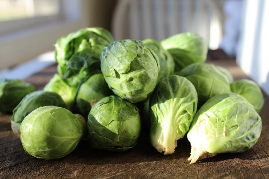 Food : Fresh Brussel sprouts
