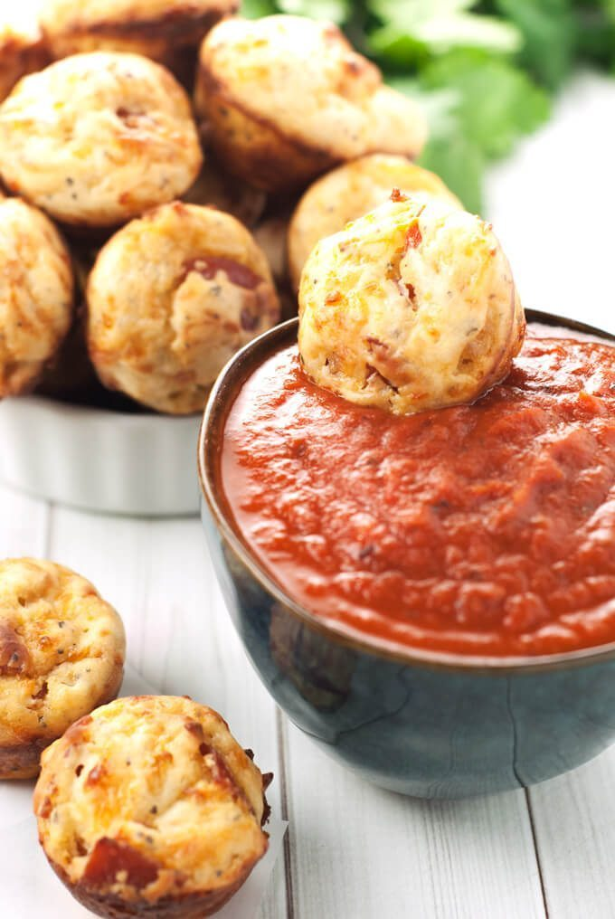 Pepperoni Pizza Bites by A Simple Pantry