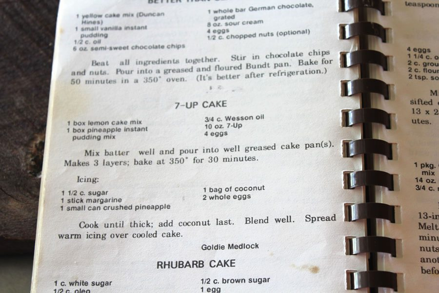 My grandmother's 7-Up Cake is a favorite dessert from my childhood. I can still remember the smell of it baking. Ours was almost (almost) as good.