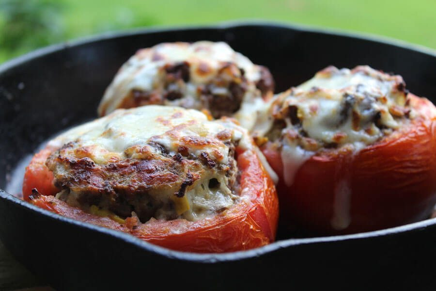 Roasted Stuffed Tomatoes, one of my personal favorite recipes ever!