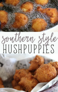 Southern Style Hushpuppies
