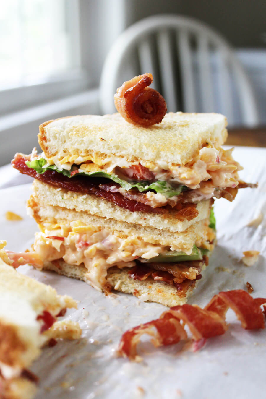 Pimento Cheese BLT's - A southern classic tailgate recipe