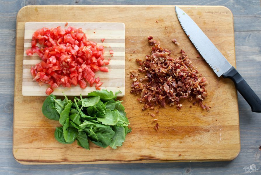 By now you have figured out that I am in a long-standing love affair with bacon. I mean, aren't we all, really? You can take just about any recipe, add bacon to it, and it instantly becomes better. Like this BLT Cheese Ball.