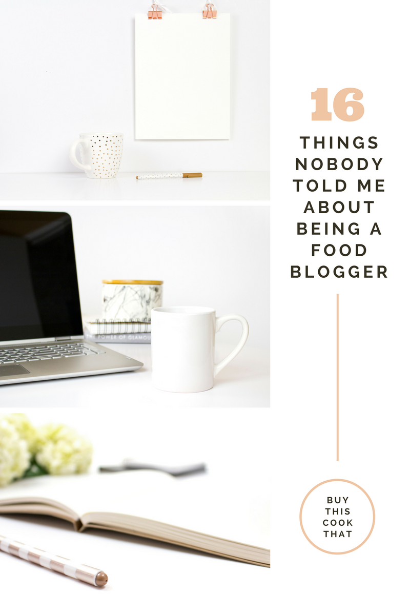 So you want to be a food blogger? Read this first.