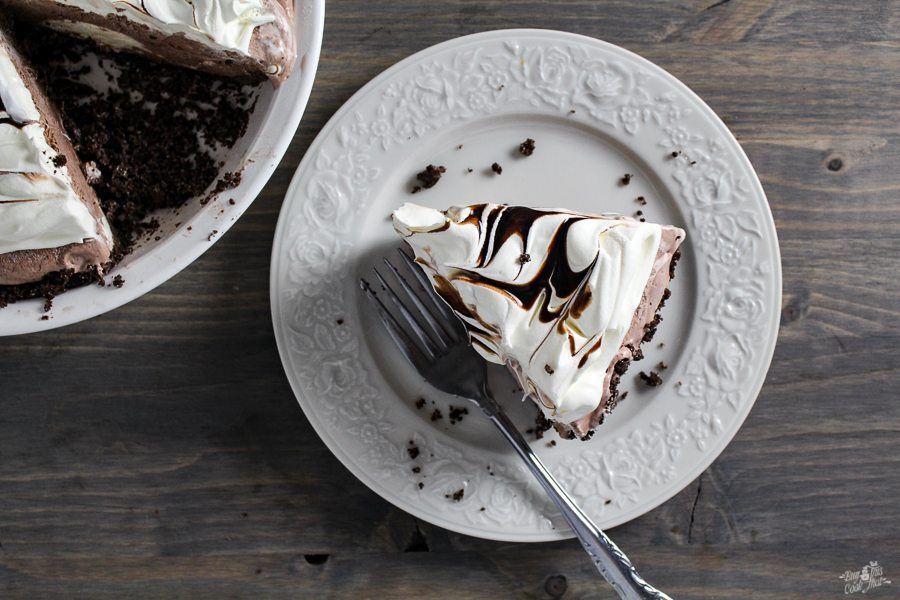My oh my, look at this Pie! Frozen Mocha Pie.