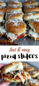 Easy Pizza Sliders