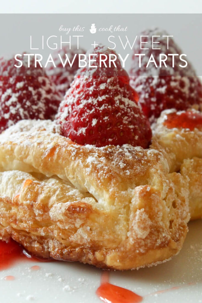 Fresh Strawberry Tarts | Buy This Cook That