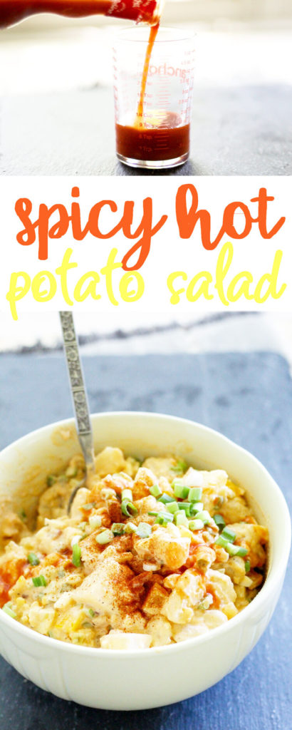 Spicy Hot Southern Potato Salad