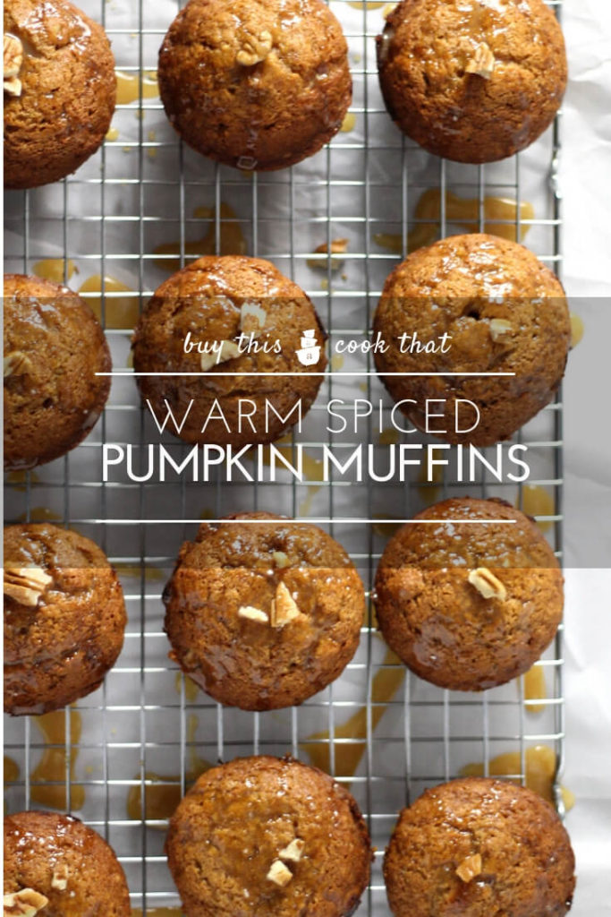 Warm Spiced Pumpkin Muffins | Buy This Cook That