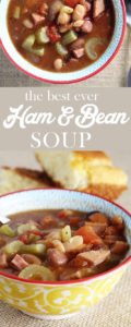 You have to try our simple recipe for the best Ham and Bean Soup ever.