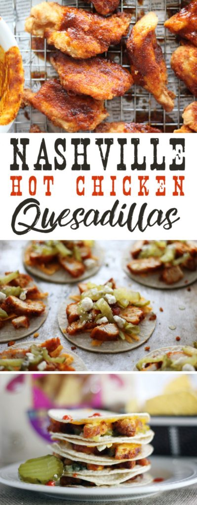 Celebrate your game day Southern Style with our Nashville Hot Chicken Quesadillas.