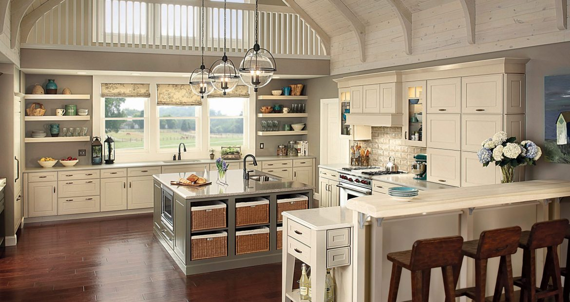 Kitchen islands with function and style.