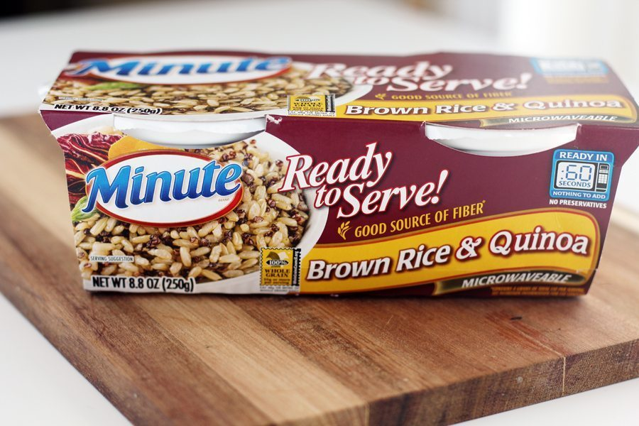 Minute Rice ready to serve brown rice + quinoa two pack