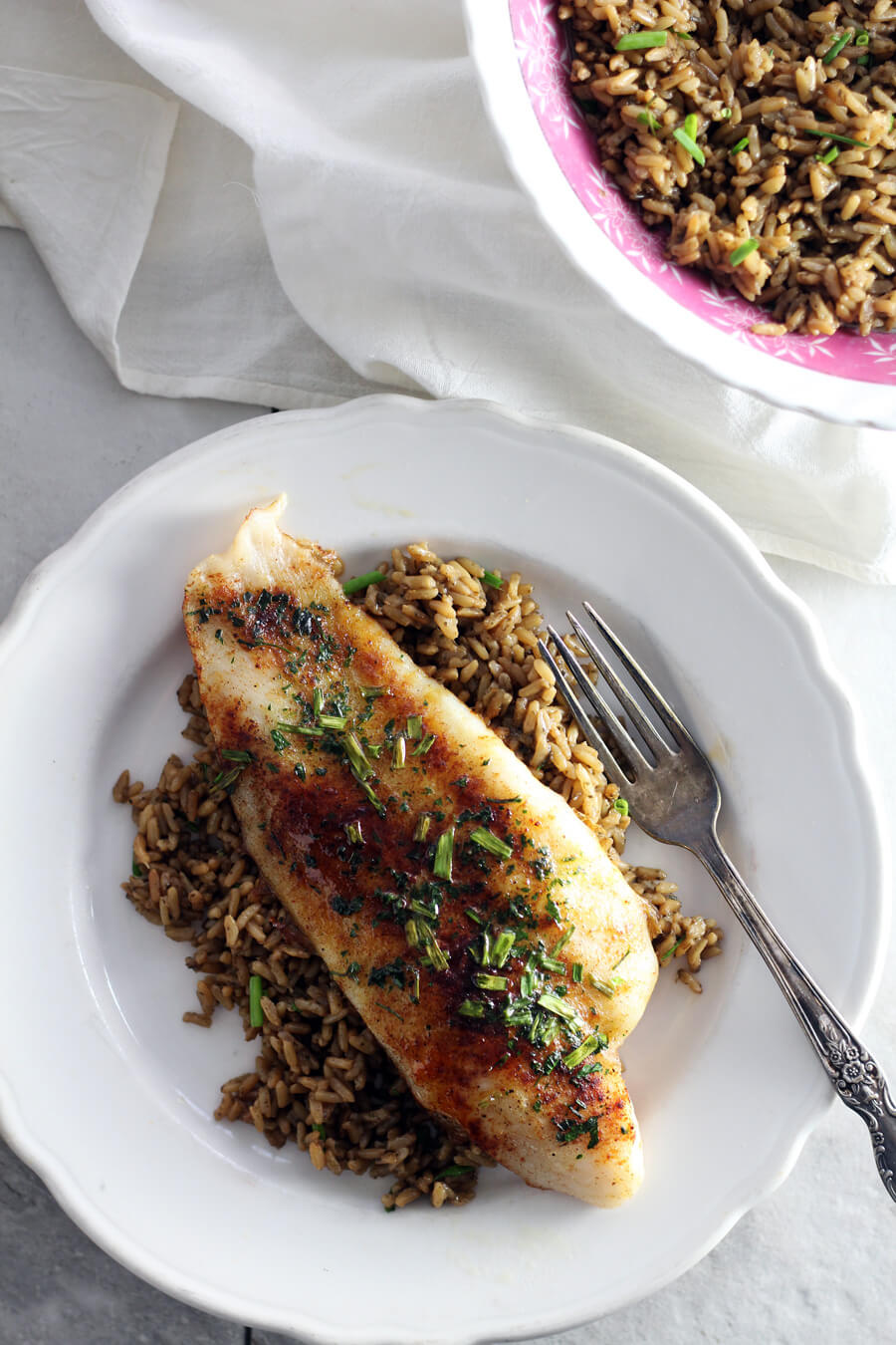 Oven Baked Catfish