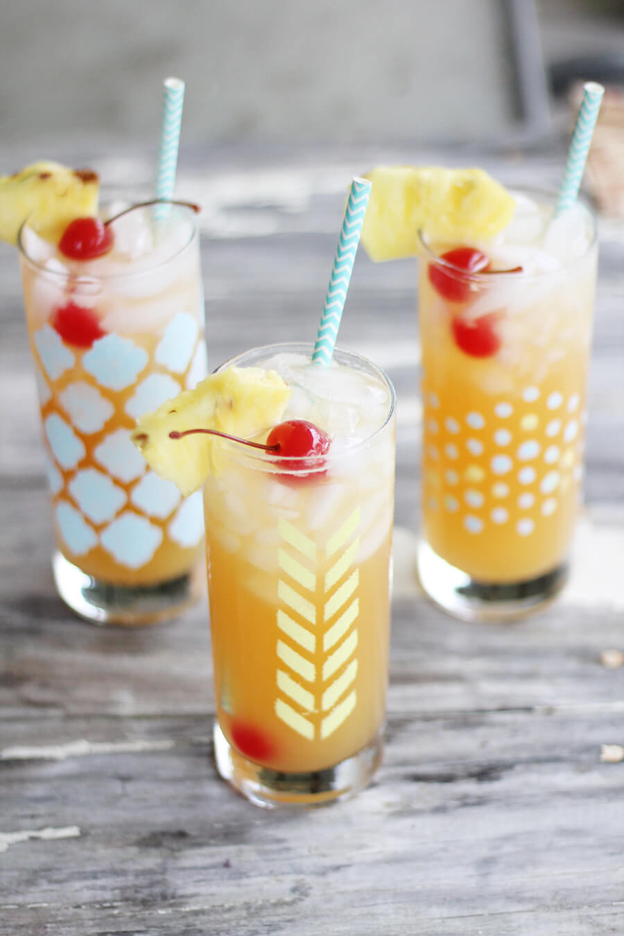 Tropical Lemonade Mocktail Recipe