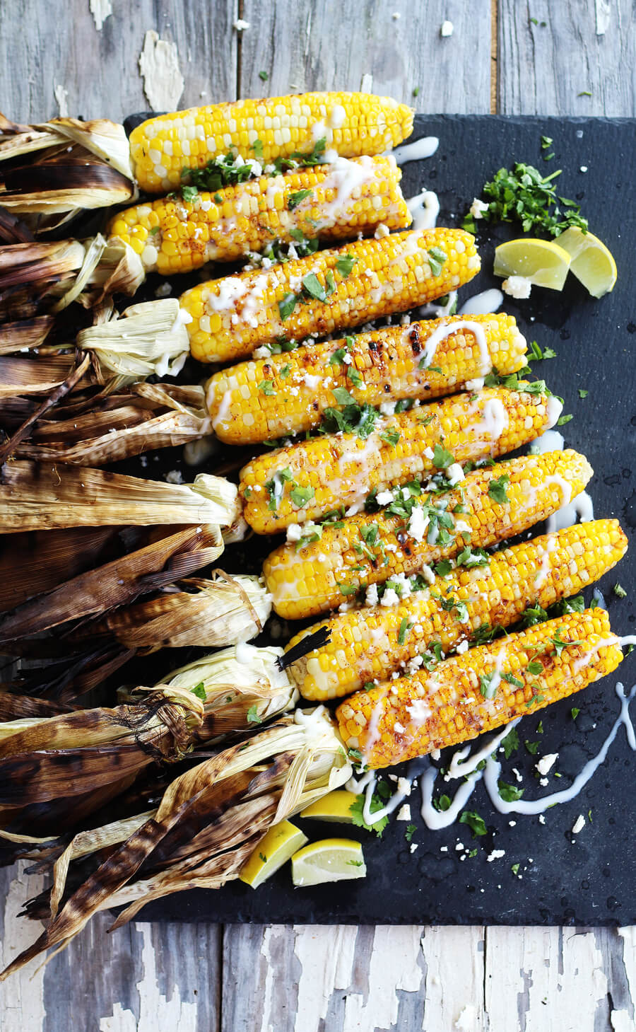 Fiesta Grilled Corn on the Cob