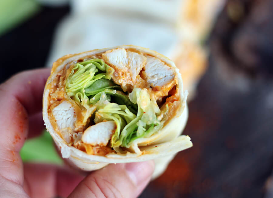 Hot and spicy, full of tangy flavor and loads of cheese, these Nashville Hot Chicken Wraps are the perfect game day treat when cheering on your Vandy Boys. Sometimes hot and always cheesy, the Commodore would definitely approve.