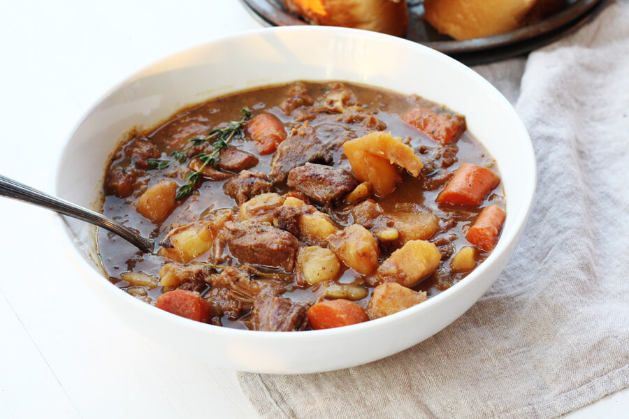 Irish Stew | Buy This Cook That A traditional recipe for Irish Stew. Prepared with lamb, beef, and hearty vegetables, this savory one pot meal is the ultimate comfort food.