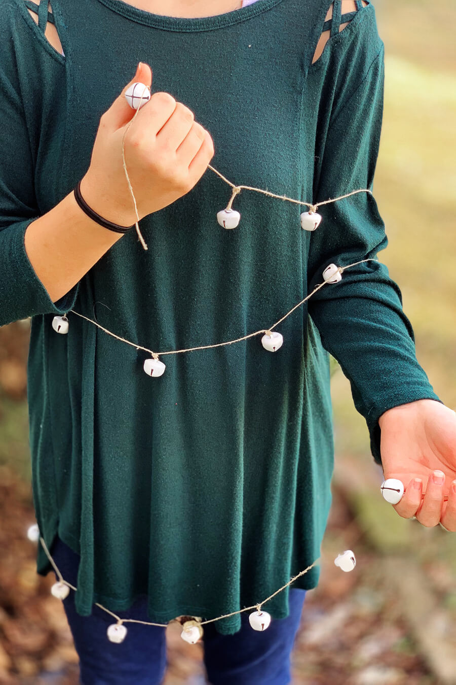 Jingle Bell Christmas Garland | Buy This Cook That