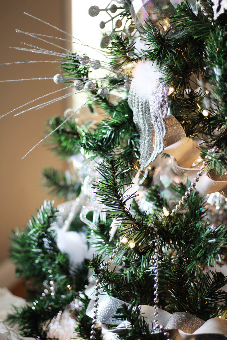 Winter White Christmas Tree Decorating   Buy This Cook That