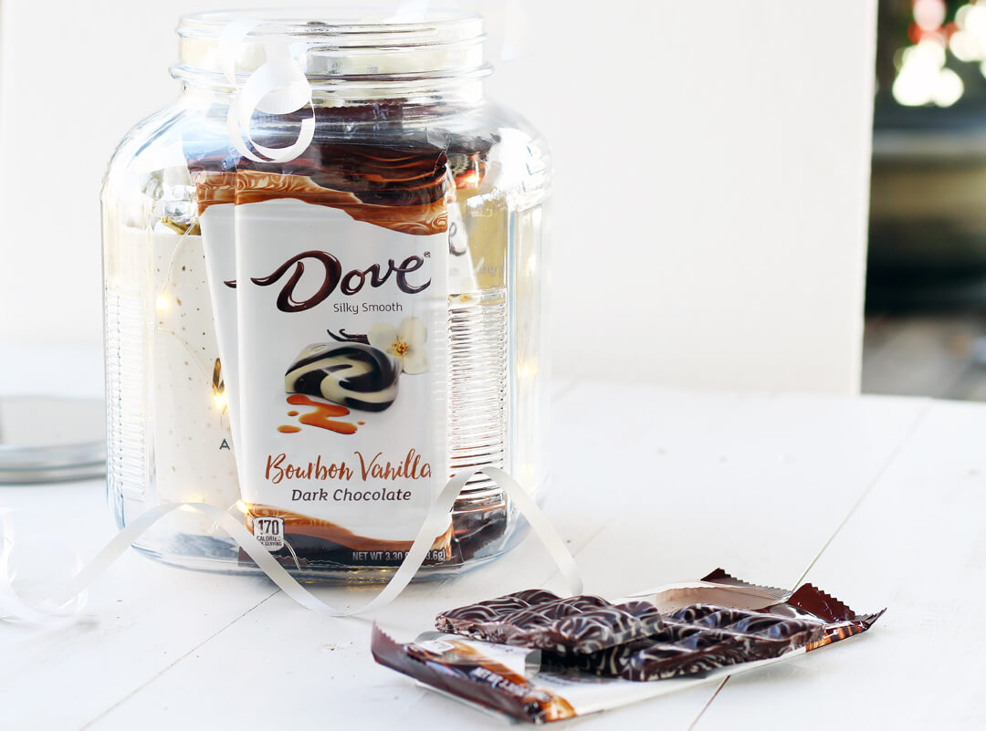 Dove Chocolate Bar in New Bourbon Vanilla
