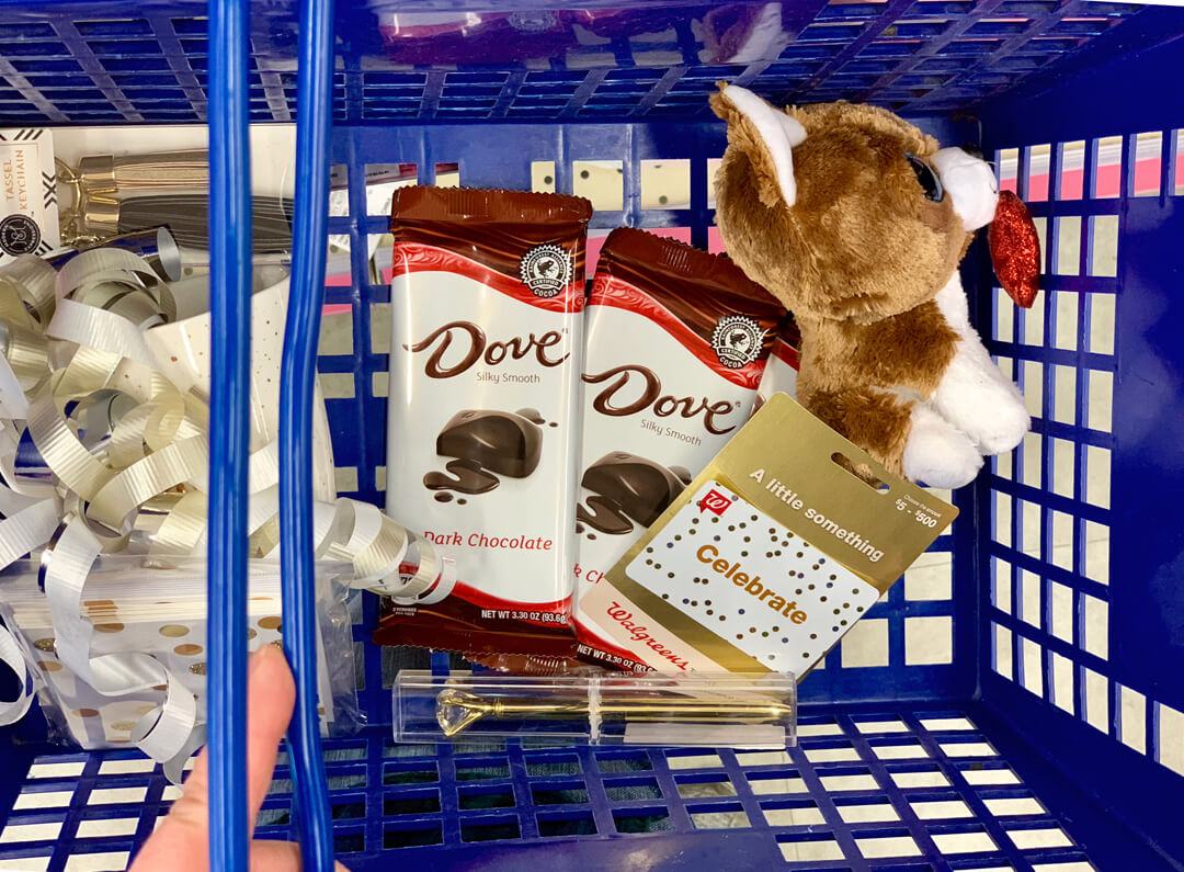 DOVE Chocolate Bars available at Walgreens