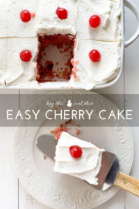 Easy Cherry Cake Recipe | Buy This Cook That