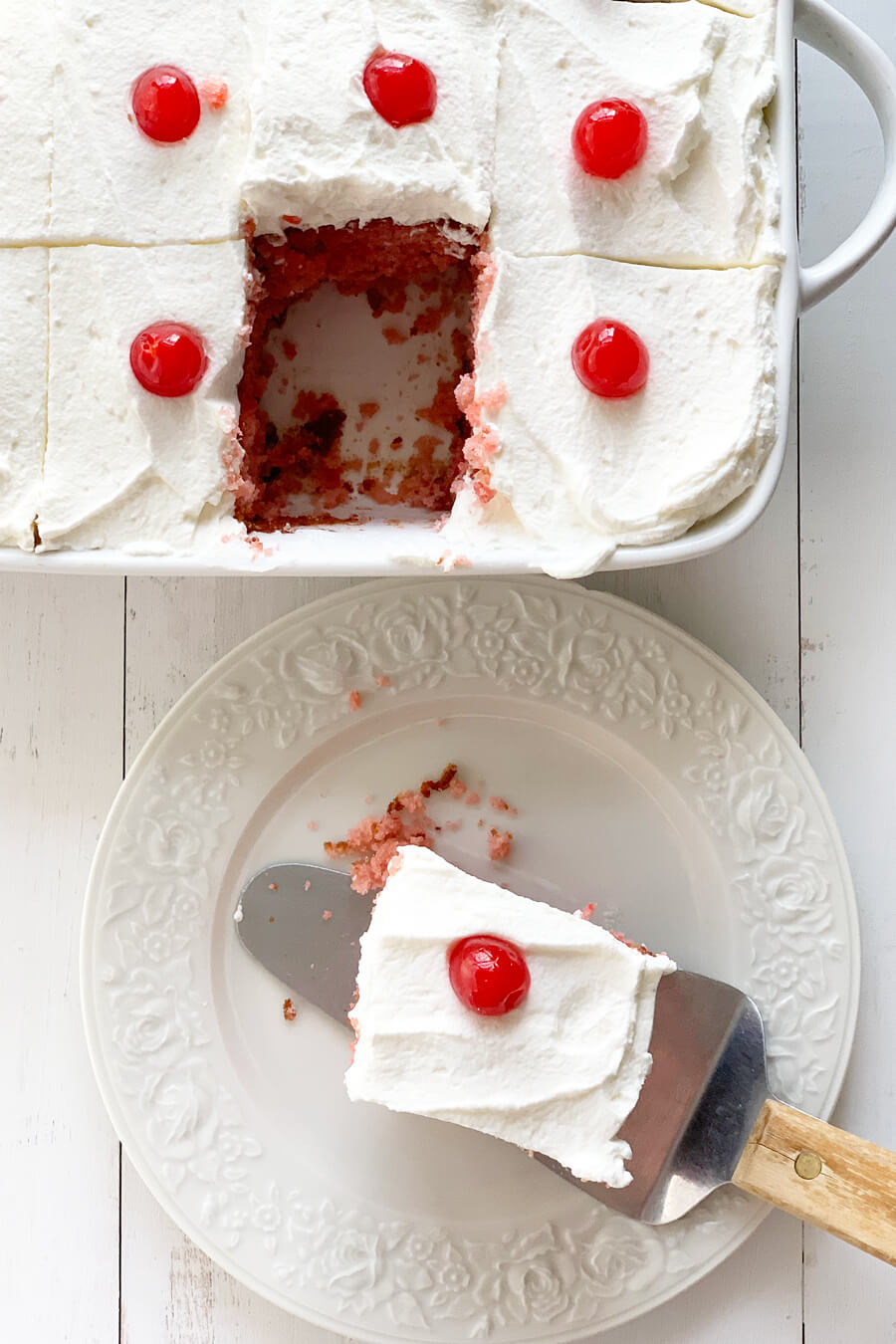 Easy Cherry Cake | Buy This Cook That