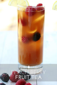 Peach Berry Fruit Tea   Buy This Cook That
