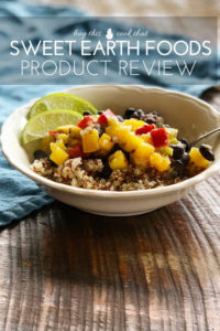 Read about our global-inspired journey with Sweet Earth Foods. We tried several varieties and here is our honest opinion.