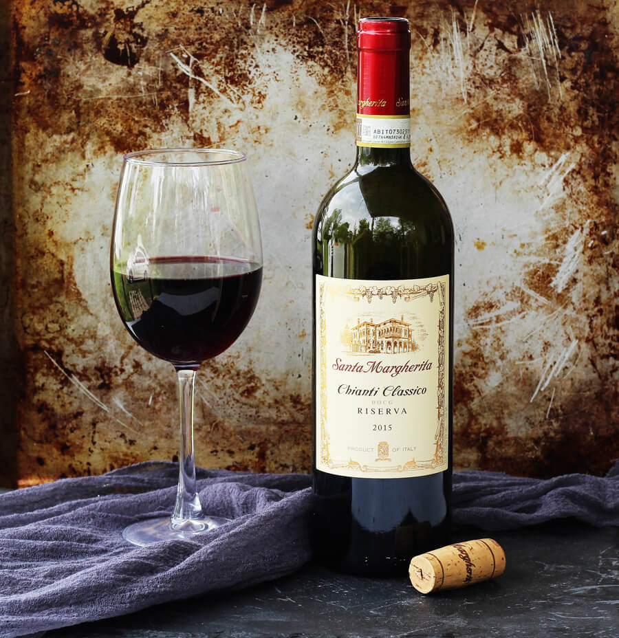 Celebrate National Wine Day with Santa Margherita Wines and our recipe for Bucatini Pasta in Chianti Sauce.
