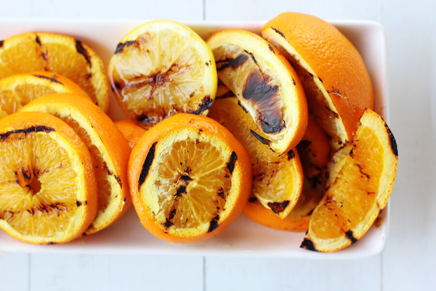Grilled Citrus is a fun way to change up your vinaigrette, salads and cocktails. A quick flip on the grill really brings out the flavors of your favorite citrus fruits.