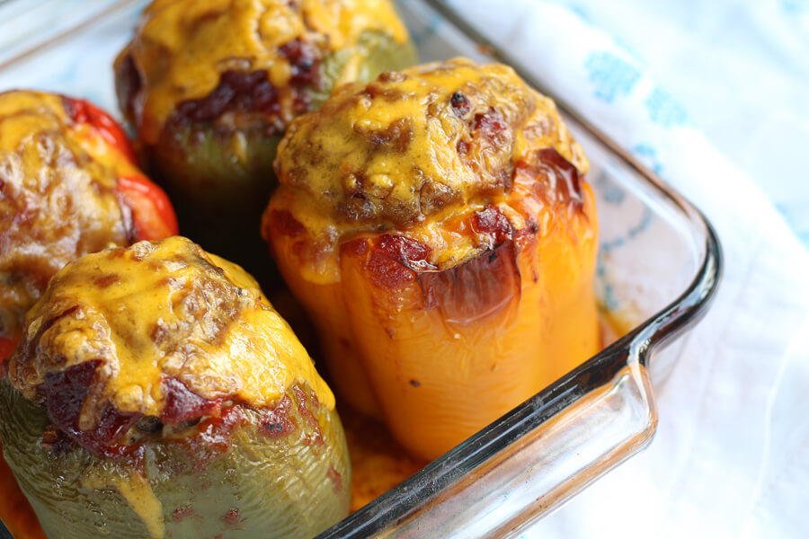 For this recipe, we put a tasty BBQ spin on a classic stuffed bell pepper. You'll only need a few basic ingredients to create this delicious meal for your family.