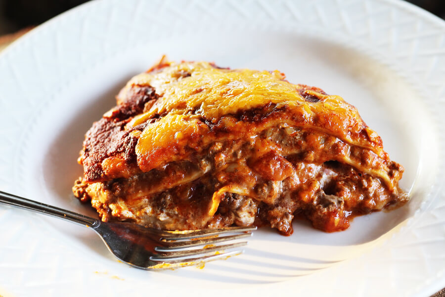 Enchilada Casserole | Buy This Cook That
