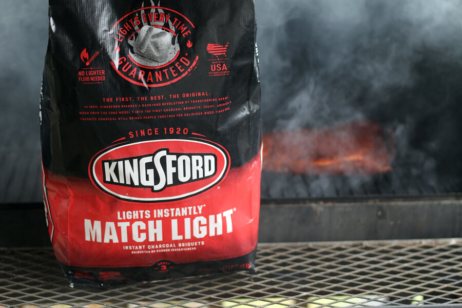 Bacon Brisket Fries and Kingsford Charcoal